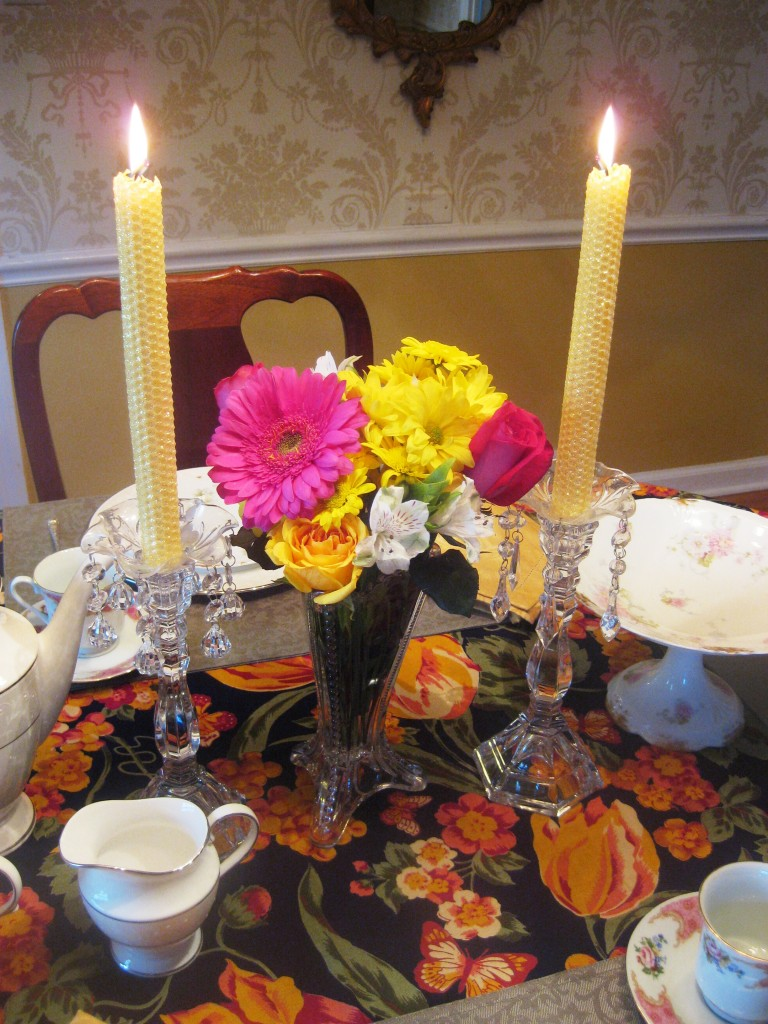 u00bb colorful tablescape to brighten a cold winter day red door table decor