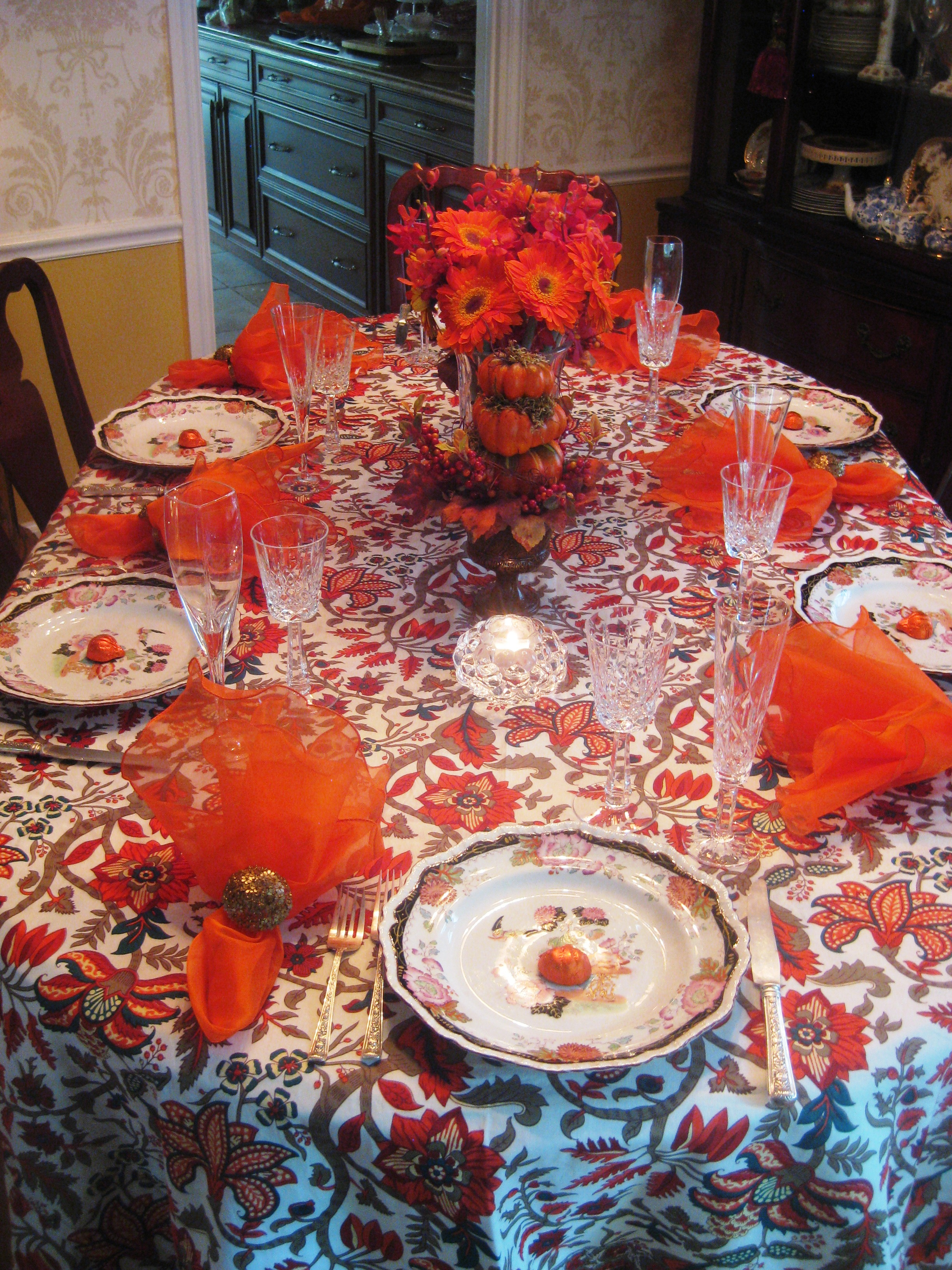 #AD2E1E » Orange Crush Tablescape Red Door Table Decor 5283 decoration table noel orange 2448x3264 px @ aertt.com