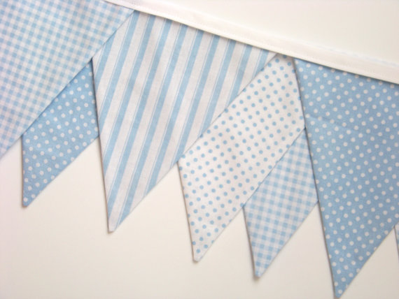 found this pastel blue banner on Etsy which can be found @ nestables ...