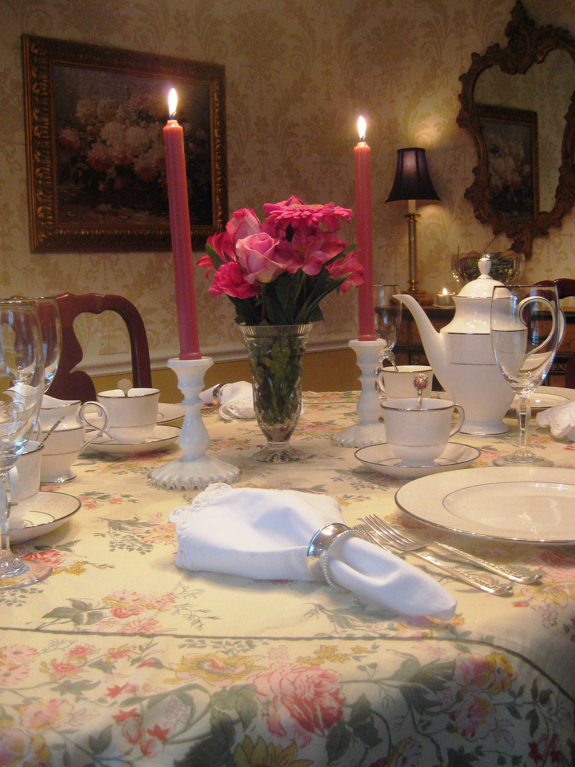 Simple Spring Table Setting Red Door Table Decor